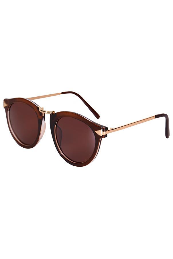 Очки / Fashion / 981-2 Ibiza / тёмно-коричневый