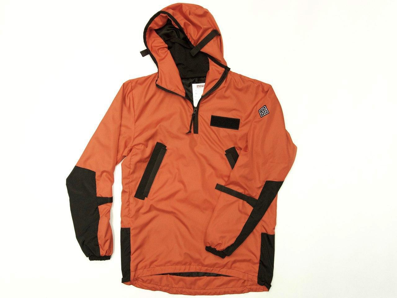 НПОГП   анорак Спираль оранжевый/черный