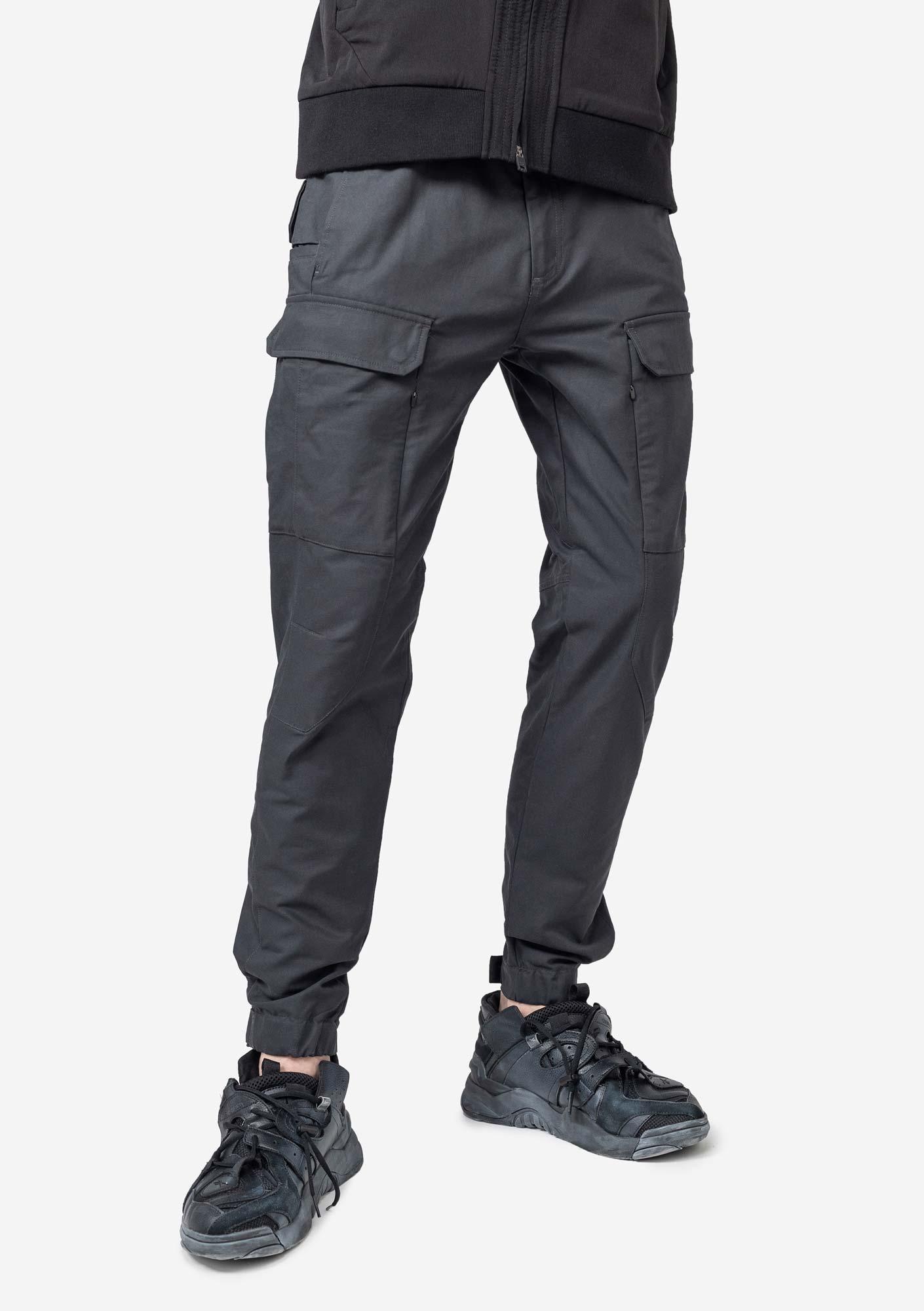 Прямые брюки-карго  KRAKATAU R92/2