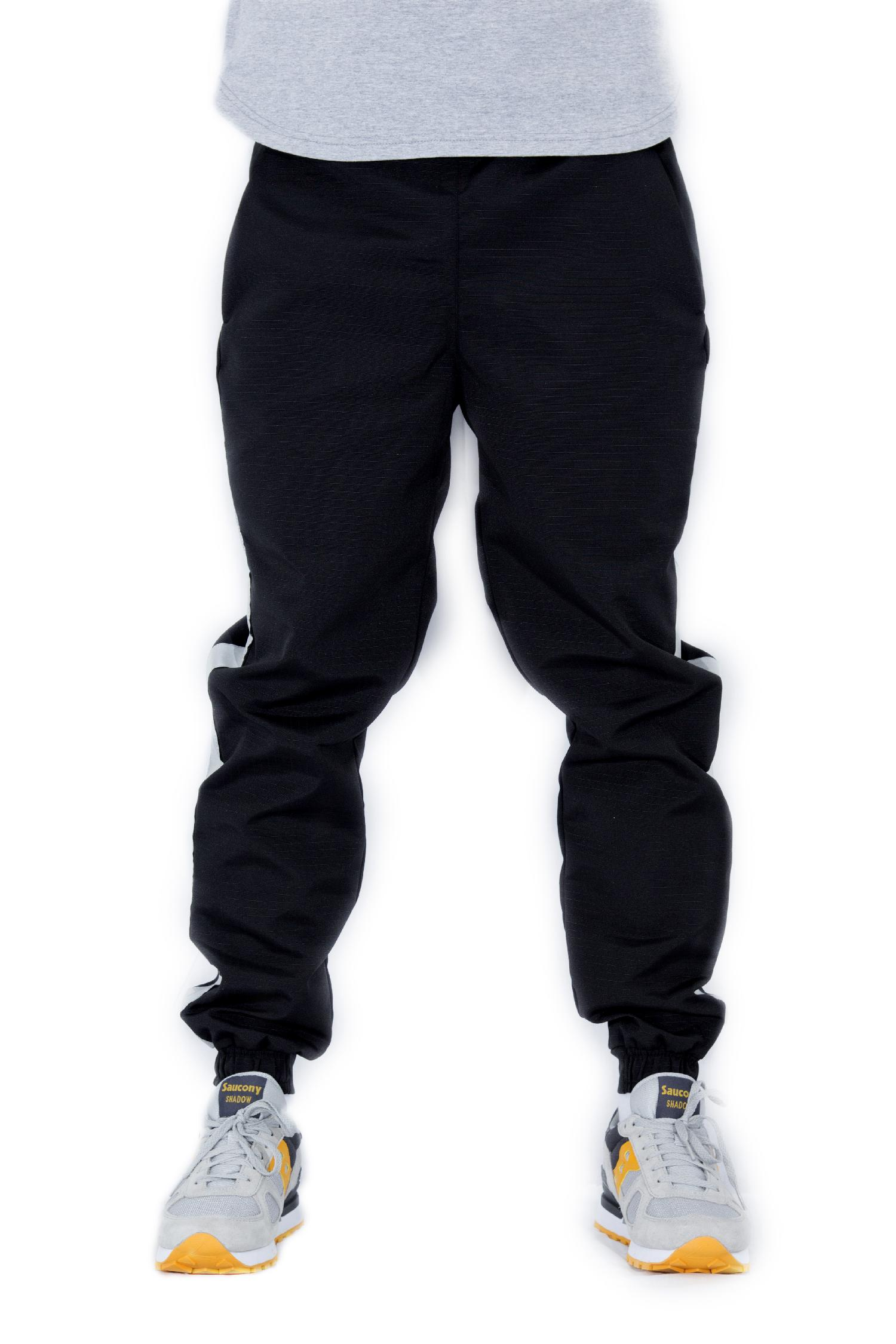 НПОГП брюки Габарит черный  рип-стоп светоотражающая полоса