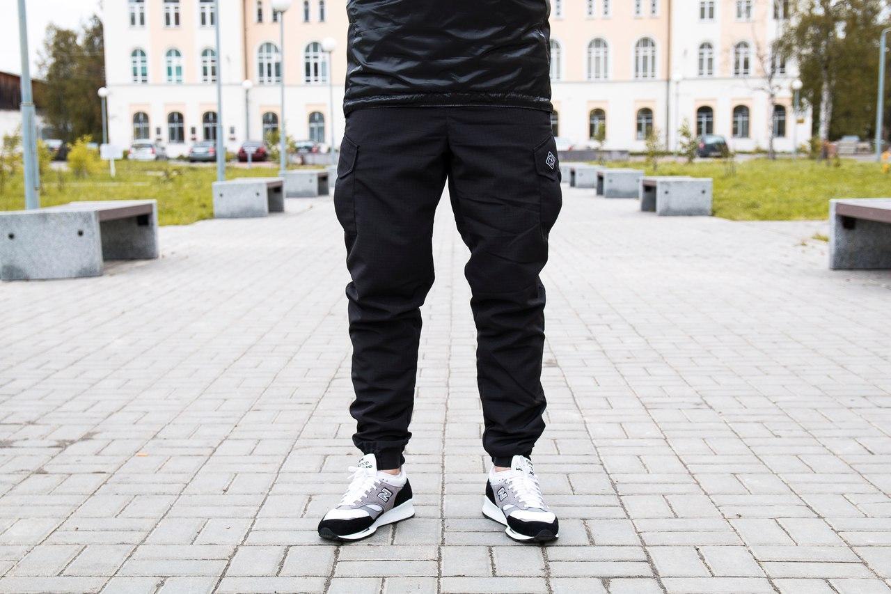 НПОГП брюки НВП Тактик / черный рип-стоп