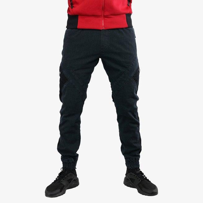 Брюки мужские IGAN M№09066 серый джинс