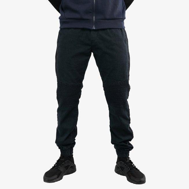 Брюки мужские IGAN М№09060-1 серый джинс