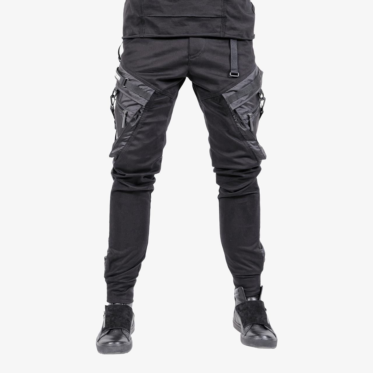 Брюки-джоггеры IGAN 09072 твил черный