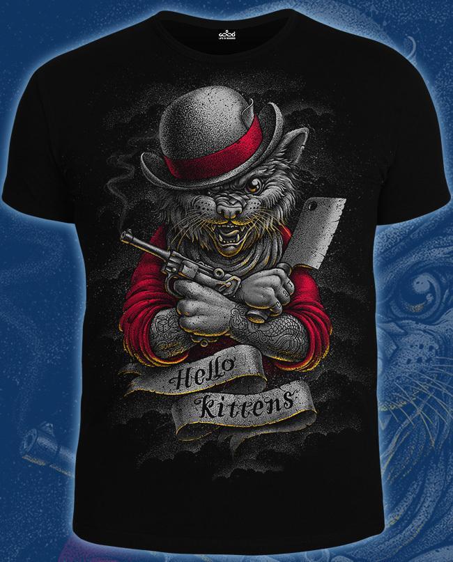 Футболка Good (14-1764) Hello Kittens