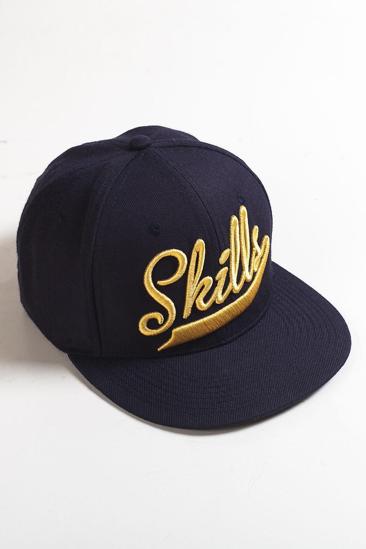 Бейсболка SKILLS Skills-01 (Синий (Navy), O/S)