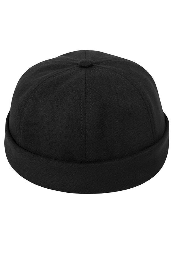 Бейсболка без козырька / Your Number / Brimless hat / чёрный