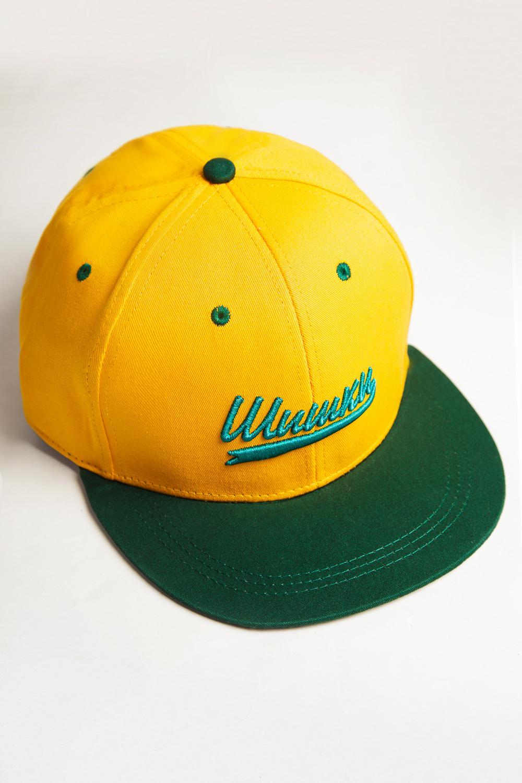 Бейсболка ЗАПОРОЖЕЦ Shishki (Желтый (Yellow/Green), O/S)