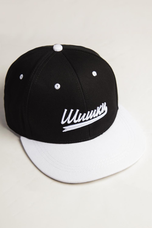 Бейсболка ЗАПОРОЖЕЦ Shishki (Черный (Black), O/S)