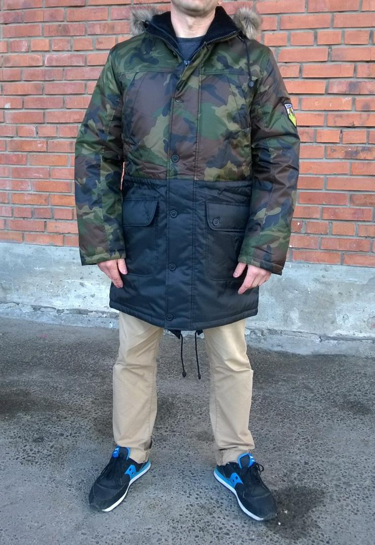 Куртка Anteater Fishtail2_Winter-camo