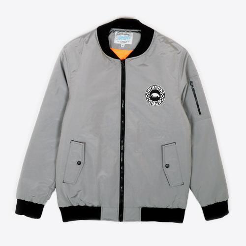 Куртка Anteater Bomber_lux-lightgrey