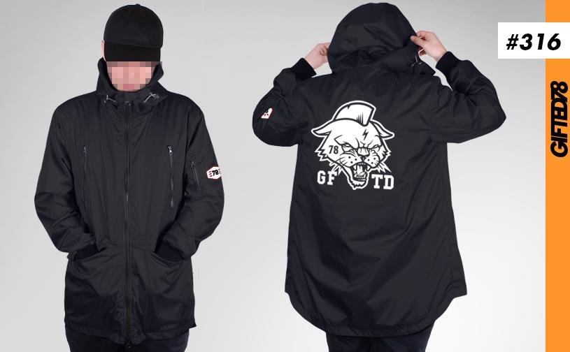 Куртка GIFTED SS19/316 черный