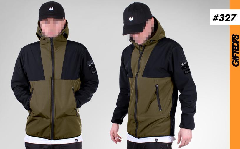 Куртка GIFTED SS19/327 хаки-черный