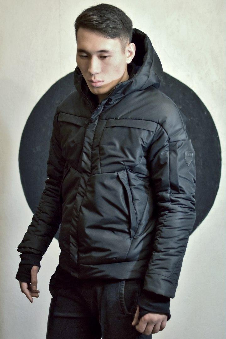 Куртка мужская М№0404 черная