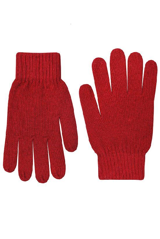 Перчатки / Winter / Blank женские / красный /  (One size)