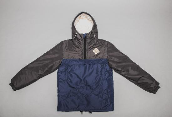 Анорак SKFN Winter (серый/синий)