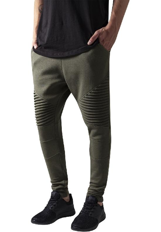 Брюки URBAN CLASSICS Pleat Sweatpants (Зеленый (Olive)