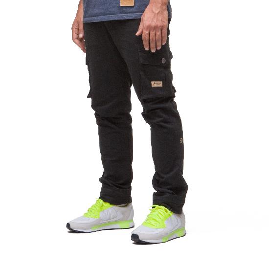 Брюки ЗАПОРОЖЕЦ Cargo Pants (Черный (Black)