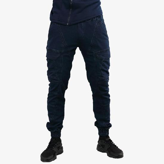 Брюки мужские IGAN M№09065 синий джинс