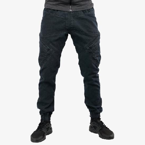Брюки мужские IGAN М№09068 темно-серый джинс