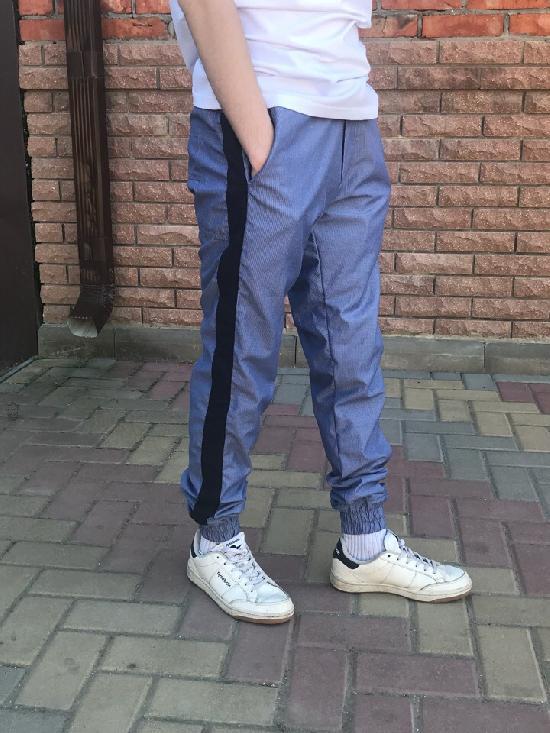 брюки-джоггеры IGAN (Темно-серые) М№0902