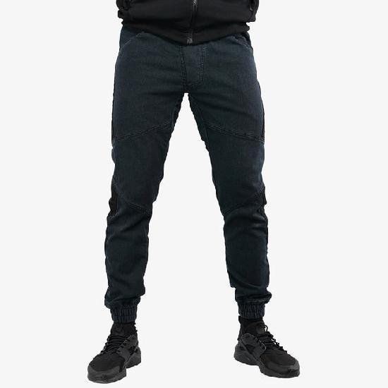 Брюки мужские IGAN М№09067 темно-серый джинс