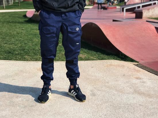 НПОГП брюки НВП Тактик 2 генерация ластовица (темносиний рип стоп)