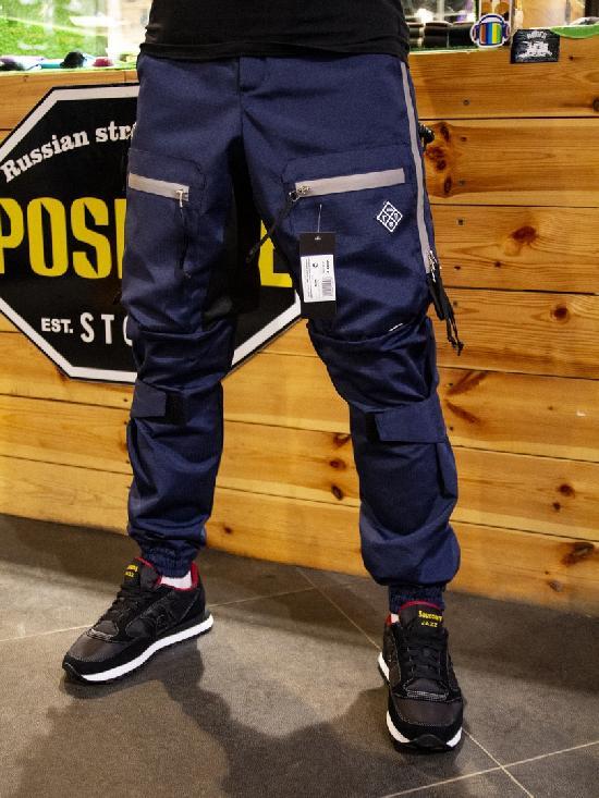 НПОГП брюки НВП Тактик 3 генерация увеличенная ластовица темно синий рип стоп