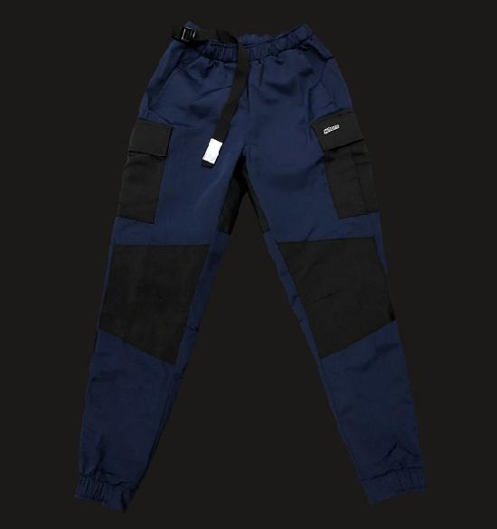 НПОГП карго джоггеры Визуал Вандал М2 тёмно-синий рип-стоп