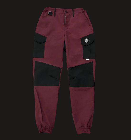 НПОГП брюки НВП Тактические первой генерации бордовый рип-стоп твил