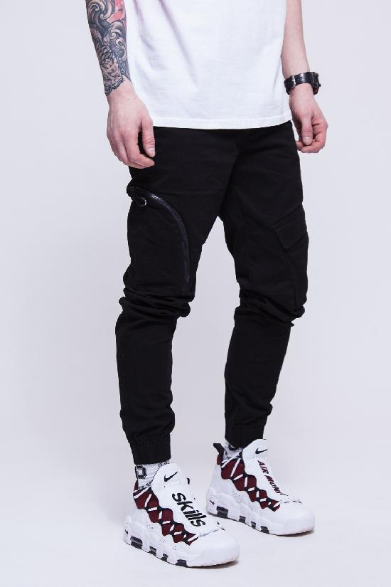 Брюки SKILLS Asymmetric Pants (Черный (Black)