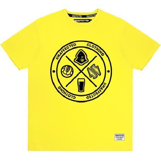 Футболка Круг (желтая)
