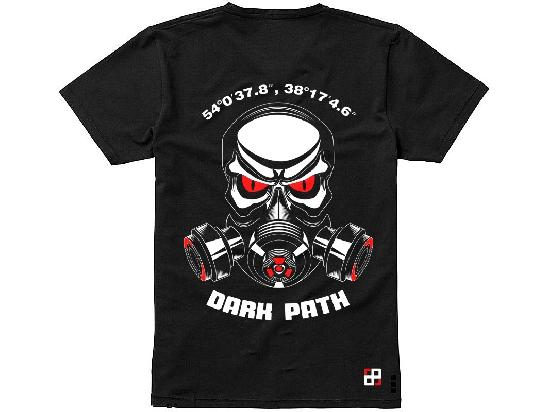 Футболка DARK PATH /SS21/ Противогаз /черный