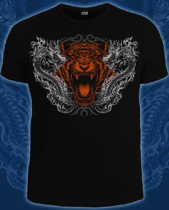 Футболка Good 14-1725 Крадущийся тигр, затаившийся дракон