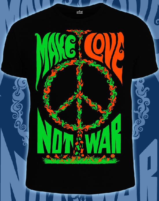 Футболка Good 14-1693 Make love not war