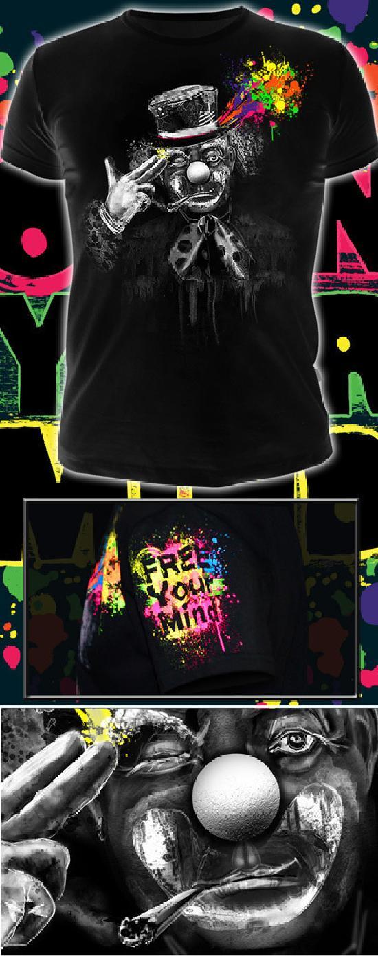 Футболка - FREE YOUR MIND