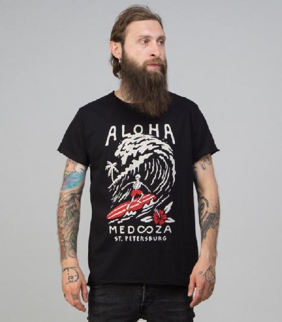 Футболка MEDOOZA (Aloha) (черный)