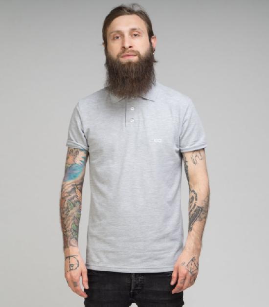 Поло MEDOOZA (Classic Grey)