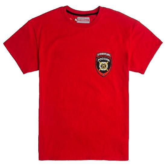 Футболка Провинция Герб красный