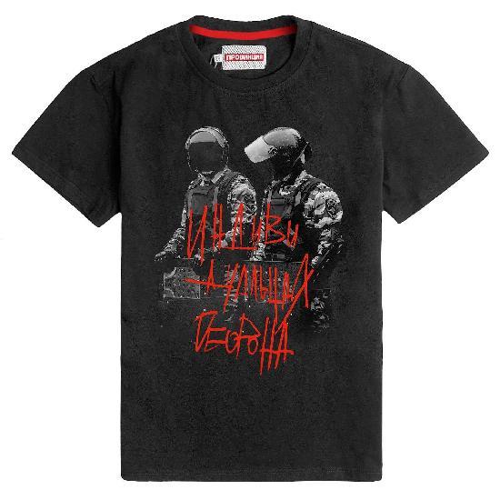 футболка Провинция Оборона черный