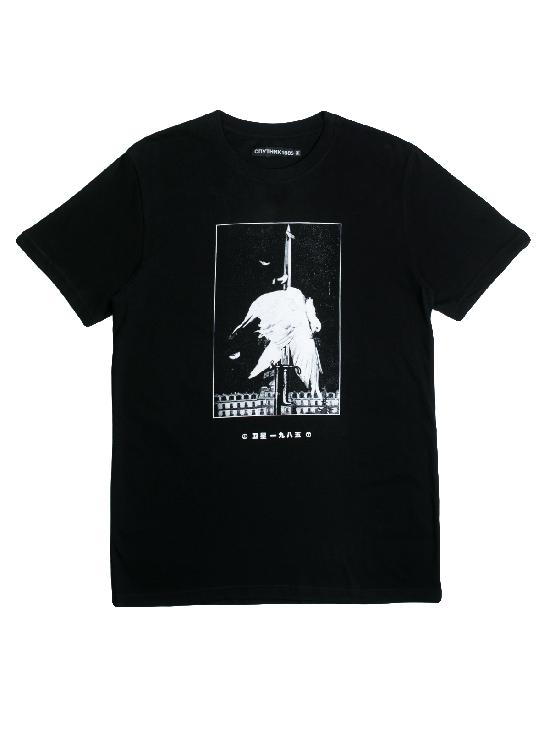 Футболка Спутник 1985 F20 черная