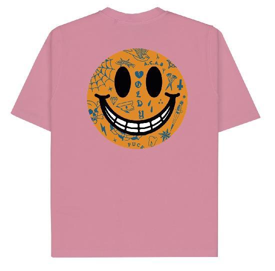 Футболка Oldy Smile (розовый)