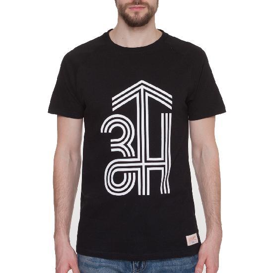 Футболка ЗАПОРОЖЕЦ ZH Logo (Черный (Deep Black)