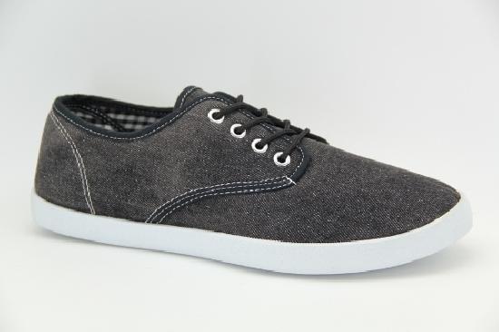 Кеды TRIEN WJ-13-009 black jeans