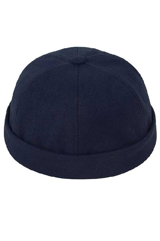 Бейсболка без козырька / Your Number / Brimless hat / тёмно-синий