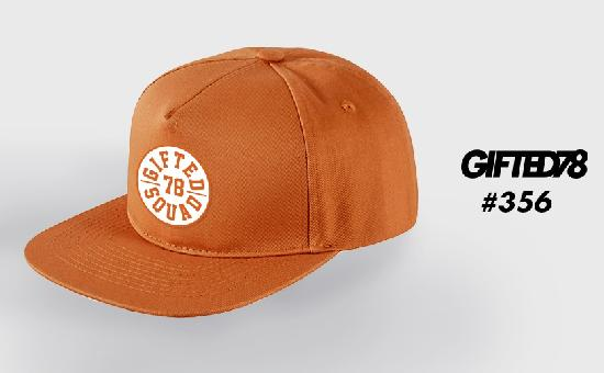 Бейсболка GIFTED SS19/356 оранжевый
