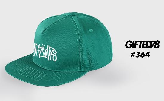 Бейсболка GIFTED SS19/364 зеленый