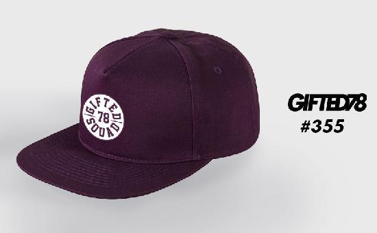 Бейсболка GIFTED SS19/355 фиолетовый