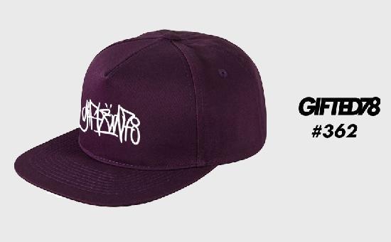 Бейсболка GIFTED SS19/362 фиолетовый