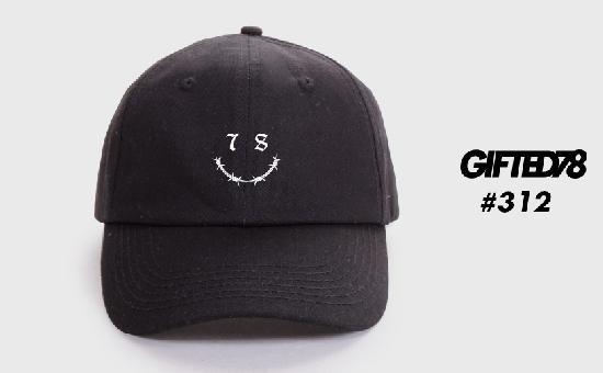 Бейсболка GIFTED SS19/312 черный